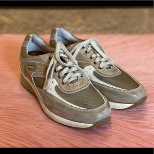 ECCO Leather & Mesh Sneakers Size 44